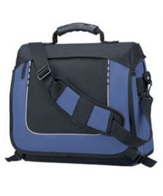 Promotional Products Ideas That Work: Messenger briefcase. Get yours at www.luscangroup.com