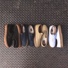 Vans Era Gum Sole Pack. Available now at Kith Manhattan and KithNYC.com. $45 USD.