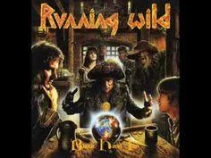 Running WIld - Black Hand Inn Artwork by Andreas Marschall Music Songs, New Music, Symphonic Metal, Metal Albums, Power Metal, Metal Artwork, Thrash Metal, Dark Side, Album Covers
