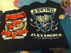 YAAY band merch from hot topic