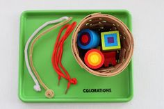 Playing House: Tot Trays - Shapes