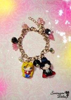 Sailor Moon Jewelry Sailor Moon Bracelets by SentimentalDollieZ, $36.00
