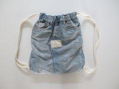 Denim backpack UPcycled
