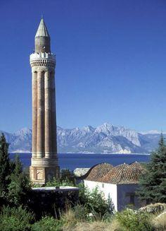 Fluted Minaret, #Antalya, Turkey