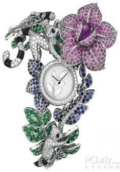 Another Van Cleef & Arpels....now, that's a watch you won't see on every other wrist.....