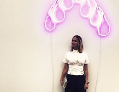 Perusing and partying with Sarah Hoover and Misha Nonoo at Frieze New York. The Instagram jealousy was real. http://www.thecoveteur.com/inside-frieze-new-york/
