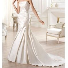 Nwt Pronovias White Wedding Gown
