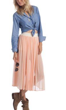 http://www.donnaclassey.com/2013/04/pretty-peach-pink-chiffon-skirt-by.html