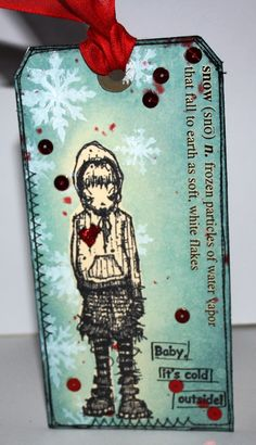 Artwork created by Carol Fox using rubber stamps designed by Daniel Torrente for Stampotique Originals