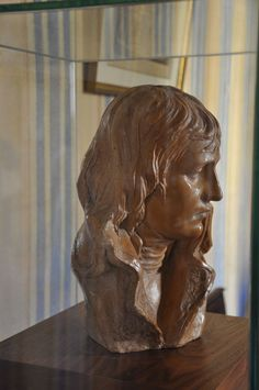 Bust of Napoleon at the Maison Bonaparte in Ajaccio, Corsica (Napoleon's birthplace).