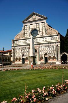 Basillica di Santa Maria Novella, Firenze, Italy 피렌체 산타마리아 노벨라 성당