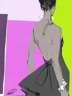 By David Downton. love the colours.                                                                                                                                                     More