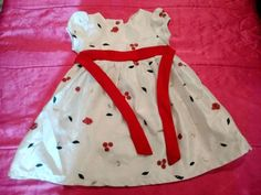 George 3T Toddler Girl Short Sleeve Cream Holiday Rose Floral Dress Princess!! #George