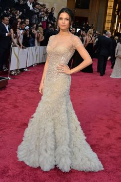 Consider These 5 Wedding-y Dresses From the Oscars the Best-Dressed List for Brides - Jenna Dewan-Tatum in Reem Acra