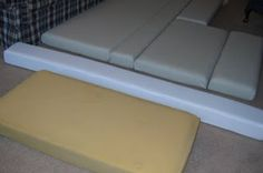 Easy recovering cushions