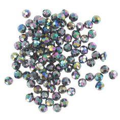 Hobbycraft Crystal Round Faceted Beads Chameleon | Hobbycraft