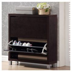 Features:  -Product: Cabinet.  -Cleaning and Care: Wipe clean with a dry cloth.  -Shipping: This item ships small parcel.  -Return Policy: This item is final sale and cannot be returned.  -Constructio