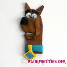 Mystery Dog Ribbon Sculpture