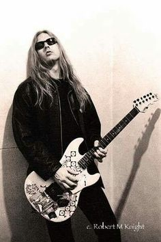 Jerry Cantrell.  No one puts Baby in the corner!!