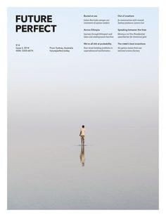 Editorial Design: Australian magazine Future Perfect