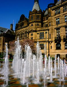 This is where my family is from. Someday I'll get there! Peace Gardens, Sheffield | England