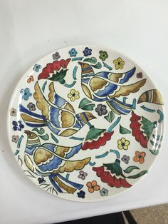 Get Painted Flies Flies - Diy And Craft Plate Wall Decor, Plates On Wall, Art Decor, Glazes For Pottery, Ceramic Pottery, Ceramic Plates, Ceramic Art, Southwest Home Decor, Turkish Pattern