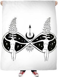 Twin Flame Fleece Blanket $64.99
