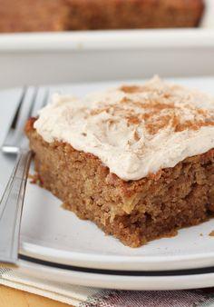 Gluten-Free Apple Cinnamon Cake {Dairy-Free} | Meaningful Eats