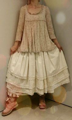 EWA I Walla ♡ Jupon Dentelle Ivoire ♡ Magnolia Lace Petticoat Pearl ♡ | eBay     <3