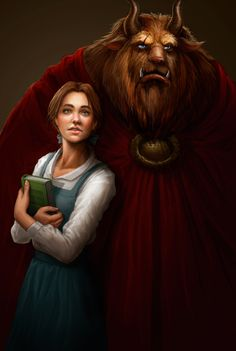 La Belle et la Bete - Beauty and the Beast by *me-illuminated on deviantART
