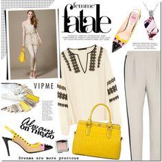 Vipme by mada-malureanu on Polyvore featuring moda, Karen Millen, Fendi, Hourglass Cosmetics, women's clothing, women's fashion, women, female, woman and misses