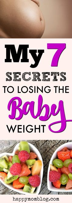 Struggling to lose the baby weight? I get it! I struggled to lose the baby weight after every pregnancy! Read my 7 secrets to losing the baby weight.