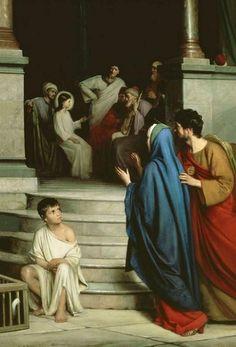 Encuentran a Jesús en el templo.