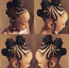 Awesome Braided Hairstyles For Little Girls - Loud In Naija - Awesome Braided Hairstyles For Little Girls – Loud In Naija 10 Easy Braids Hairstyles for Little Girls Little Girl Braids, Black Girl Braids, Braids For Kids, Braids For Black Hair, Girls Braids, Braids Easy, Kids Braids With Beads, Little Girl Braid Styles, Toddler Braids