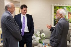 #BehindTheScenes: Pastor Jim speaks with Tom Horn and Cris Putnam backstage before the show.