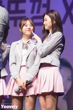 Sohye and Doyeon :')