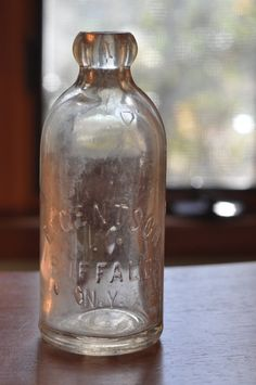 Antique Soda Bottle