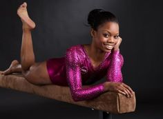 Gabrielle Douglas--great pose!