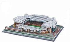Old-Trafford-Stadium-3D-Jigsaw-Model-Football-Puzzle-Manchester-United-New