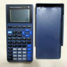 Texas Instruments TI-81 Graphing Calculator With Batteries Tested Works Great…