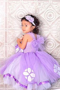Sofia the First Dress.....Princess Tutu by TutullyCuteDesigns, $80.00
