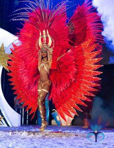 Trinidad carnival red More