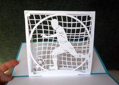 Soccer pop-up card