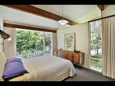 203 Atkinson Road, Titirangi, Waitakere City - Residential House for Auction Clad Home, Tongue And Groove Ceiling, Built In Furniture, Timber House, Floor To Ceiling Windows, Timber Flooring, Mid Century House, Inspired Homes, Mid Century Design