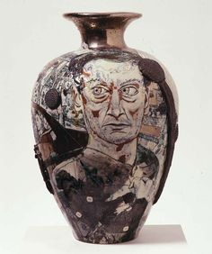 Grayson Perry Oiks, Tarts, Weirdos and Contemporary Art 1996 Earthenware 70 x 38 x 38 cm