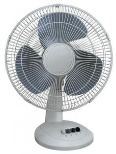 "Comfort Zone CZ161 - 16"" Oscillating Fan, White  #ComfortZone"