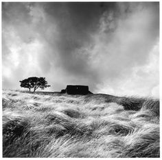 Top Withens by Fay Godwin - British Library Prints - said to be the inspiration for Wuthering Heights Famous Photographers, Landscape Photographers, Black And White Landscape, Black White, Watercolor On Wood, British Countryside, Wuthering Heights, Landscape Photos, Winter Landscape