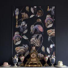 HACKNEY EMPIRE Wallpaper Midnight