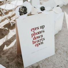 Keep your guests at the moment by requesting an unplugged ceremony. Don't worry—there will be plenty of time for selfies on the dance floor later! Unplugged Wedding Sign, Wedding Ceremony Signs, Wedding Signage, Wedding Vendors, Diy Wedding, Dream Wedding, Weddings, Wedding Ideas, Wedding Inspiration
