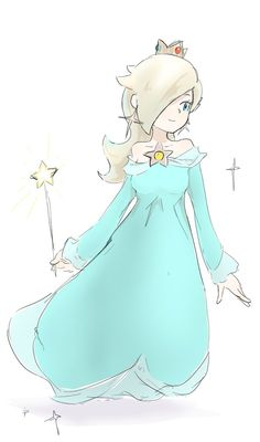 Rosalina. Mario Fan Art, Super Mario Art, Super Mario World, Super Mario Princess, Nintendo Princess, Princess Daisy, Harmonie Mario, Peach Mario, Princesa Peach